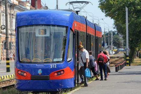 OTL: Staţionări tramvaie în 5 septembrie 2021