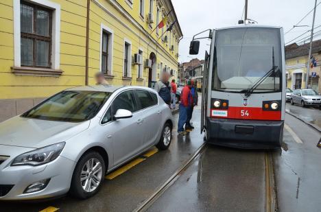 Staţionări tramvaie în 17 mai