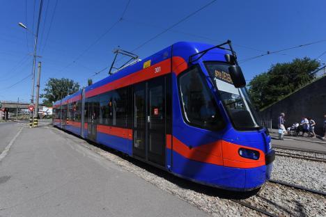 OTL: Staţionări tramvaie în 7 aprilie