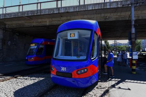 OTL: Staţionări tramvaie în 7 şi 8 august