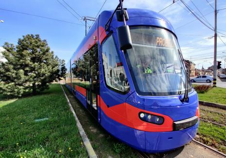 Staţionări tramvaie în 18 august 2021