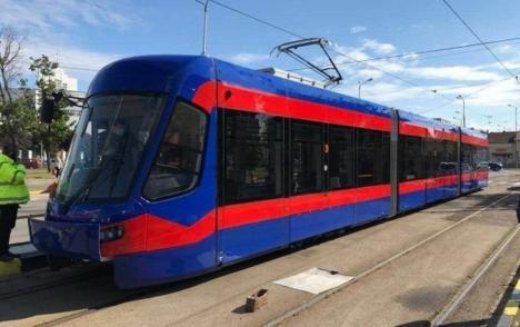 OTL: Al optulea tramvai Imperio a sosit la Oradea