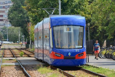 OTL: Staţionări tramvaie în 16 august