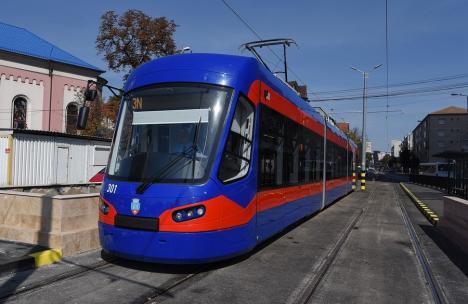 OTL: Staţionări tramvaie în perioada 13-15 noiembrie