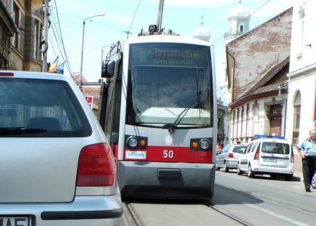 OTL: Staţionări tramvaie în 10 mai 2021