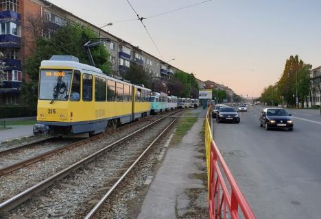 OTL: De ce au staționat tramvaiele vineri dimineața