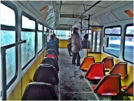 Mai cald pe jos decât cu tramvaiul