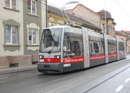 Se modernizează! Oradea cere finanţări europene de 19 milioane euro pentru achiziţionarea a 10 tramvaie noi