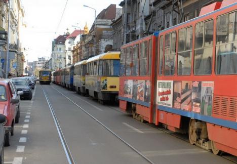OTL: Staţionări tramvaie în 6 ianuarie 2020