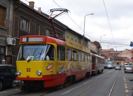 Cu întârziere: Blocaje ale mai multor tramvaie OTL din cauza unor incidente în trafic