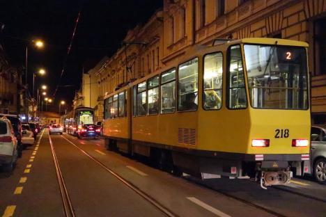 OTL: Staţionări tramvaie în 31.07.2021