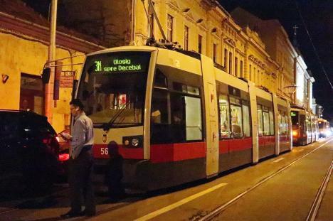 Staţionări tramvaie în perioada 31 decembrie 2020 – 3 ianuarie 2021