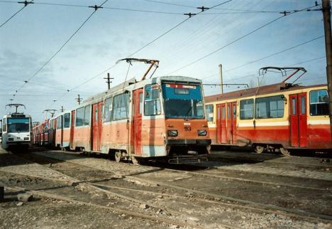 Oradea ieri, Oradea azi: Cum s-a extins reţeaua de tramvaie din oraş (FOTO)