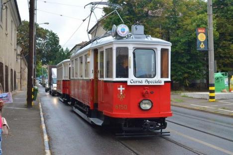 OTL: Tramvaiul de epocă va ieşi prin Oradea în serile de duminică
