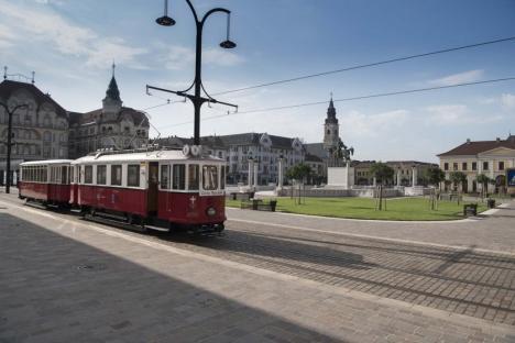 OTL: Traseul şi programul de circulaţie a autobuzului de agrement şi a tramvaiului de epocă pentru 26 mai 2019