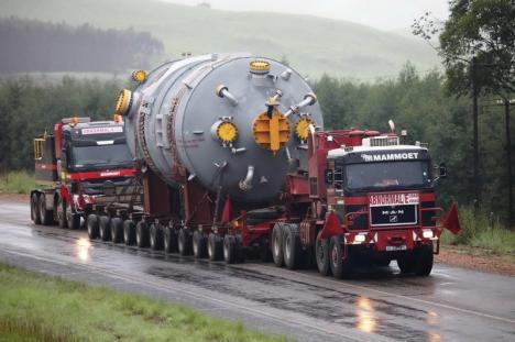 Atenţie, şoferi! DN1 va fi şi mai aglomerat între Cluj şi Oradea de marţi până joi, din cauza unui transport agabaritic