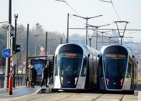 Luxemburg este prima ţară din lume care oferă, începând de duminică, transport în comun gratuit!