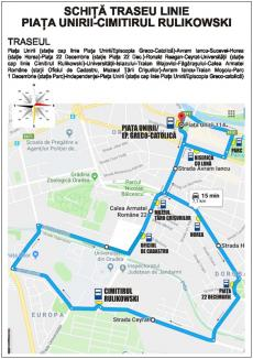 OTL anunță curse provizorii între Piața Unirii și Cimitirul Municipal, de Ziua Morților