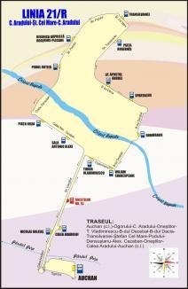OTL: Cum vor circula, începând de marți, autobuzele și tramvaiele în zona Decebal, afectată de lucrări