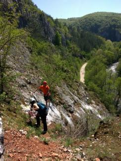 Via Ferrata Montana: Un nou traseu de aventură, inaugurat la Şuncuiuş (FOTO/VIDEO)