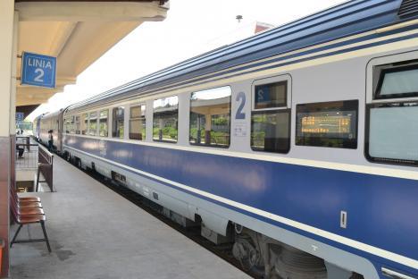 Tâlhar în tren: Un bihorean a fost bătut şi lăsat fără telefonul mobil. Agresorul a fost prins şi arestat