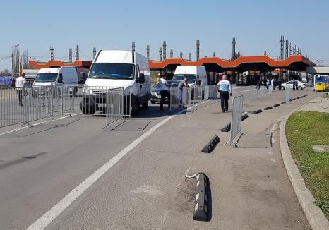 DSP Bihor avertizează: Vor fi cozi la frontierele din județ în august, pentru că se face triaj epidemiologic Covid