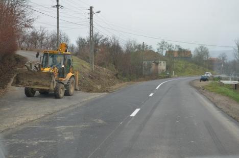 DN 76 Oradea - Beiuş a redevenit practicabil. Vezi cum arată! (FOTO/VIDEO)