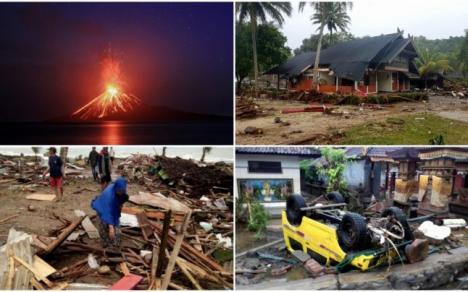 Tsunami devastator în Indonezia: Cel puţin 168 de morţi şi 745 de răniţi (VIDEO)