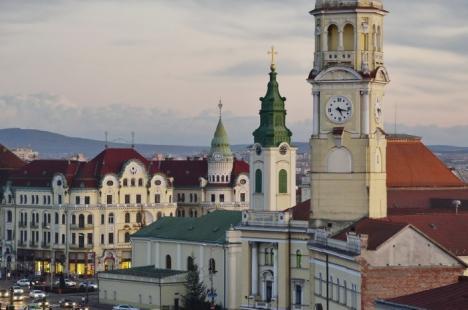 Iancu şi-a făcut de cap! Ceasul din turnul Primăriei a dat două zile ora exactă cu un decalaj de 38 de minute