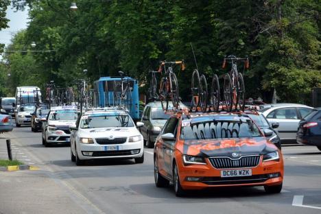 Italienii au dominat prima etapă a Turului Ciclist al Bihorului (FOTO)