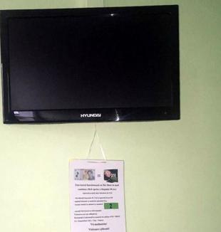Priveşti şi plăteşti: Pacienţii Spitalului din Aleşd, obligaţi să plătească dacă vor să se uite la televizor