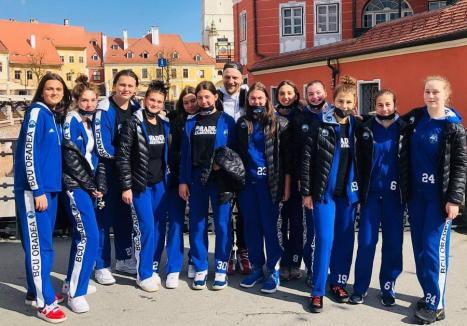 Fetele de la Crişul BCU Oradea s-au calificat la turneul final al Campionatului Naţional U14 la baschet