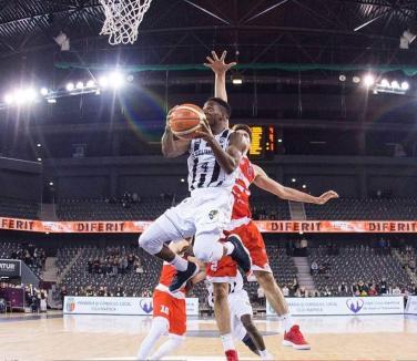 Înfrângere la un punct: CSM CSU Oradea a cedat cu 82-83 jocul de la Cluj