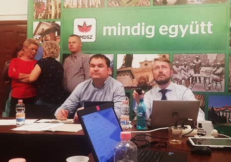 Încordare la UDMR Bihor: 'Să aşteptăm rezultatele oficiale. Avem nevoie de fiecare vot', spune Szabó Ödön (VIDEO)