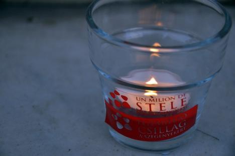 Un milion de stele: Orădenii sunt invitaţi să aprindă lumânări de Ziua Mondială pentru Eradicarea Sărăciei