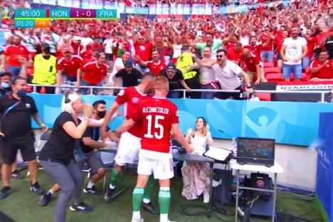 Când un egal e o performanţă: Naţionala Ungariei a remizat cu Franţa, campioana mondială, la Euro 2020 (VIDEO)