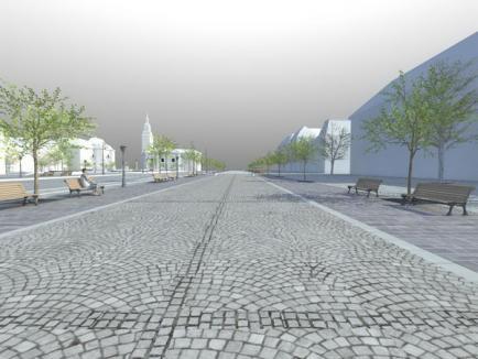 Piaţa Unirii va deveni pietonală între podul Ferdinand şi strada Vasile Alecsandri