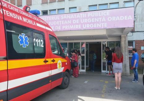 Cod roşu la Spitalul Judeţean din Oradea. Peste 400 de pacienţi iau cu asalt, zilnic, Urgenţele din cauza caniculei