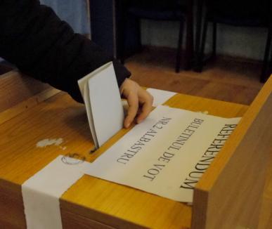 Doi bihoreni, amendaţi pentru sesizare nefondată şi pentru aruncarea pe o stradă a unor afişe electorale