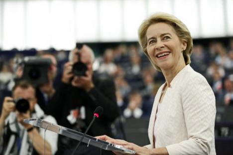 Ursula von der Leyen a devenit prima femeie la şefia Comisiei Europene