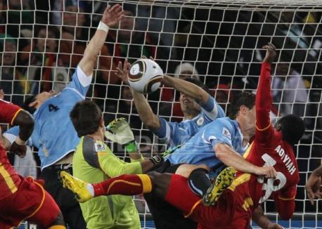 Olanda-Uruguay, prima semifinală a Cupei Mondiale