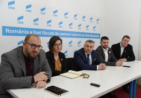 Conducerea USR-PLUS Bihor demisionează în bloc. Inclusiv candidata la Primăria Oradea, Ioana Mihăilă