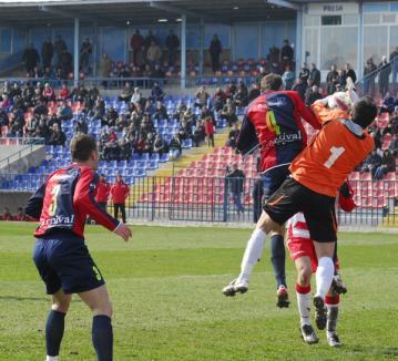 FC Bihor a învins UTA cu 3-2, după un meci cu picioare şi pumni