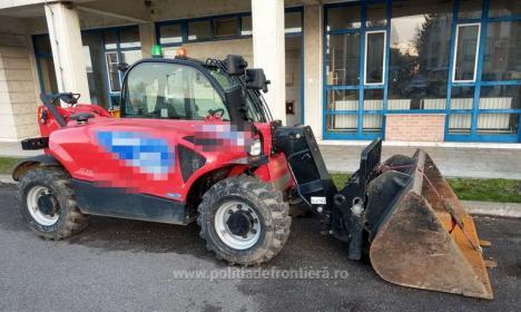 Furat din Marea Britanie, oprit la Borş: Poliţiştii au găsit un utilaj de 23.000 de euro care trebuia să ajungă la o firmă din România
