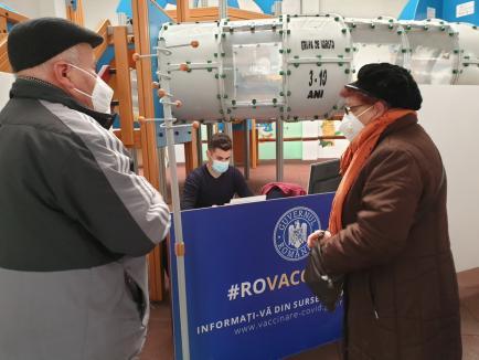 Covid în Bihor: Trei noi decese şi încă 66 de îmbolnăviri. Peste 1.100 de vaccinări în ultima zi