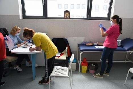 Firma orădeană Valtryp își stimulează financiar angajații ca să se vaccineze anti-Covid. O echipă mobilă a imunizat vineri o cincime din salariați(FOTO / VIDEO)