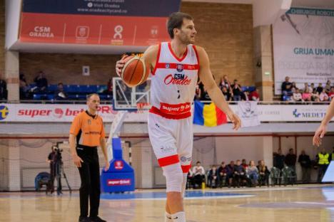Lituanianul Arturas Valeika va juca pentru CSM CSU Oradea şi în sezonul următor