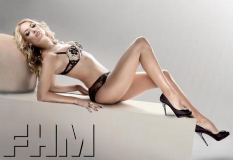 Valentina Pelinel, sexy în FHM Cehia