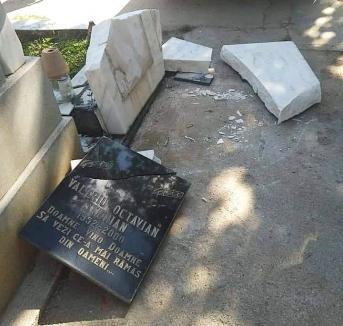Vino, Doamne, să vezi ce-a mai rămas din oameni! Piatra funerară a cântărețului Vali Sterian, distrusă