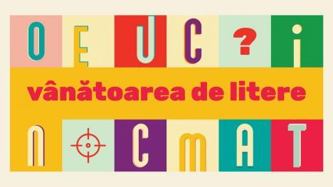 Vânătoarea de litere: Provocare caritabilă, lansată de Fundația Comunitară Oradea